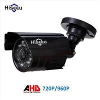 Hiseeu AHD Analoge Hoge Definition Metalen Camera AHDM 720 P 2000TVL 960 P 2500TVL AHD CCTV Camera Home Security Outdoor waterdichte