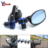 FOR HONDA CBR900RR CBR1000RR CB600 CB750 CB90 BMW R1200GS F650GS Motorcycle Rearview Mirrors 7/8''Universal CNC Bar end mirror