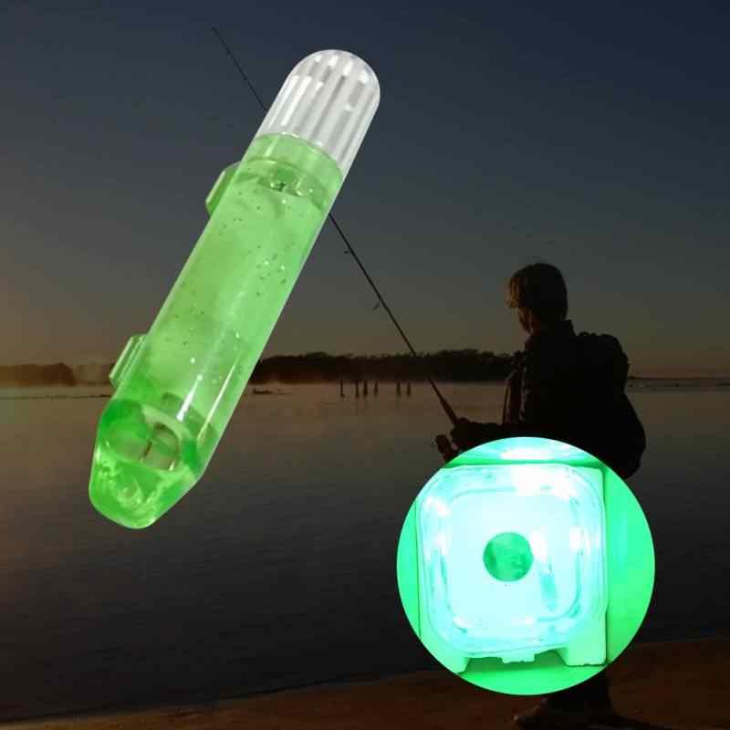 Buscador de peces señuelo LED Botón batería pescado luz electrónica bajo el agua calamar señuelo lámpara de cebo 2
