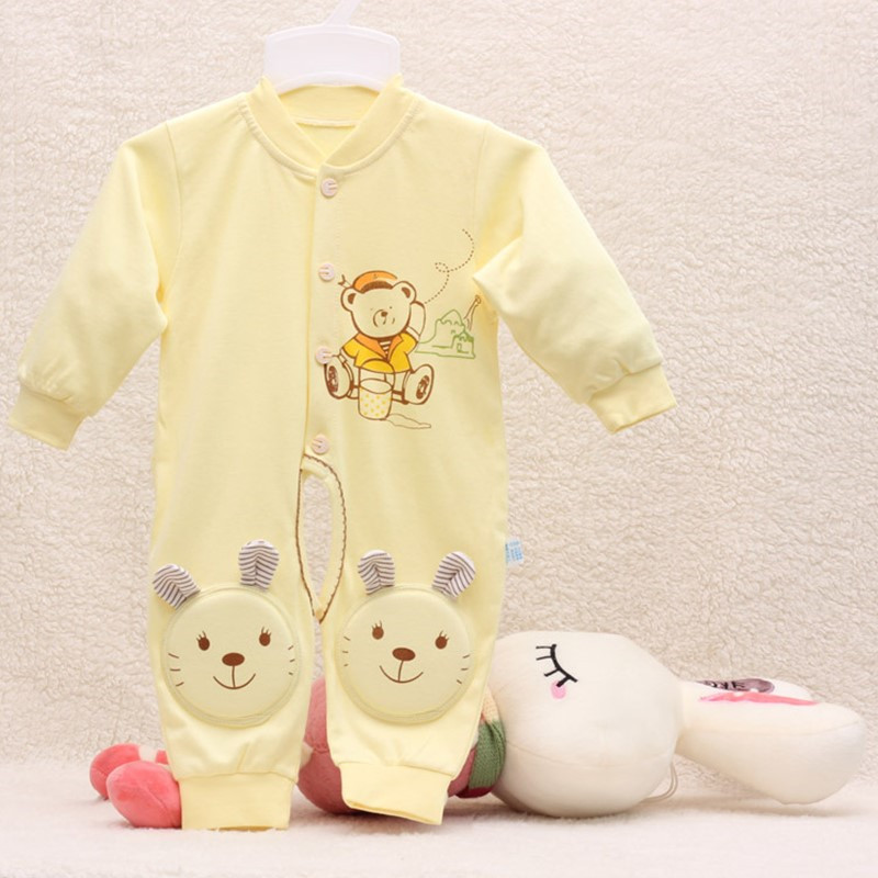 2016 Autumn baby clothes baby rompers cotton newborn clothing carton print infant clothes one piece romper newborn sleepwear 148 newborn baby rompers baby clothing 100% cotton infant jumpsuit ropa bebe long sleeve girl boys rompers costumes baby romper