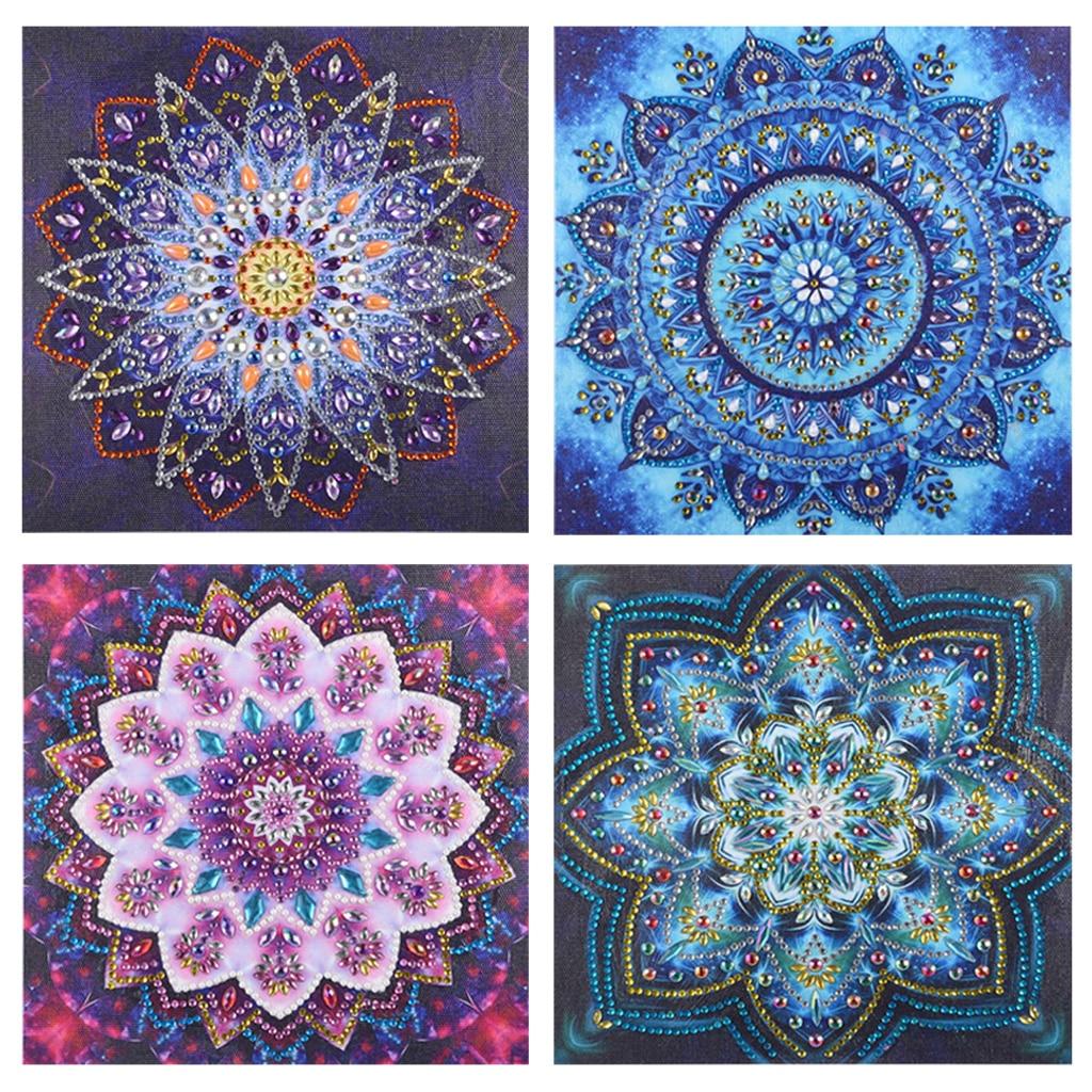 5D Diy Special Shaped Diamond Painting Cross Stitch Mandala Home Decor Crystal Rhinestones Inlay Diamond Embroidery New Arrivals