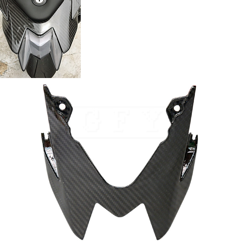 Motorcycle Carbon Fiber Rear Seat Fairing Moto Taillight Cover For BMW S1000RR 2014 - 2017 S1000 RR Bike Protector Accessory 15 yandex w205 amg style carbon fiber rear spoiler for benz w205 c200 c250 c300 c350 4door 2015 2016 2017