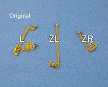 1 ensemble Original remplacement L ZL ZR bouton clé ruban câble flexible pour Nintendo NS Switch Joy Con contrôleur boutons câble