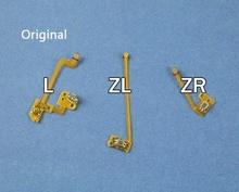 1 takım orijinal yedek L ZL ZR düğme şerit Flex kablo Nintendo NS anahtarı Joy Con denetleyici düğmeler kablo