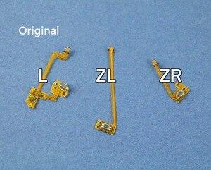 Image 1 - 1set Original Replacement L ZL ZR Button Key Ribbon Flex Cable For Nintendo NS Switch Joy Con Controller Buttons Cable