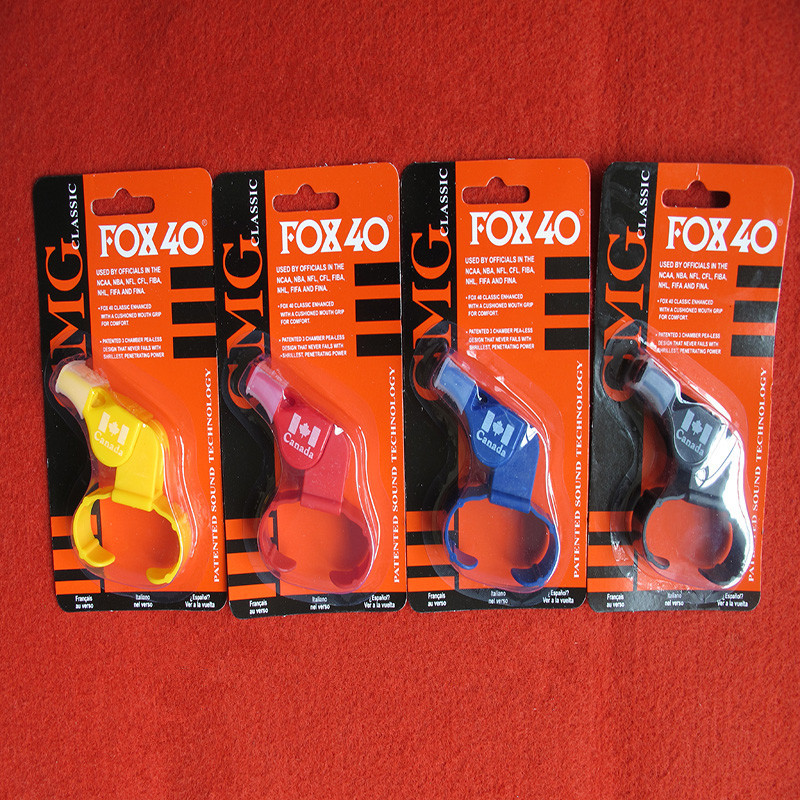 Fox40 Whistle With Finger Grip Sports Referee Whistle Rugby Basketball Volleyball Tennis Dolphin Referee PAIDIAO Apito