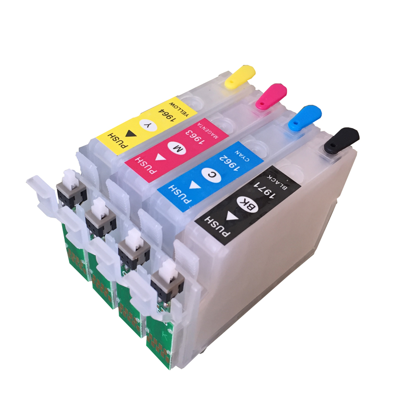 T1971 T1962 T1963 T1964 Refillable Cartridge With Reset