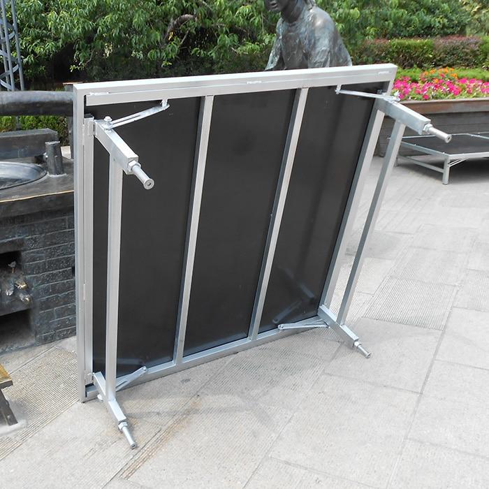 Подробнее о Folding T indoor lift stage folding stage freescape folding