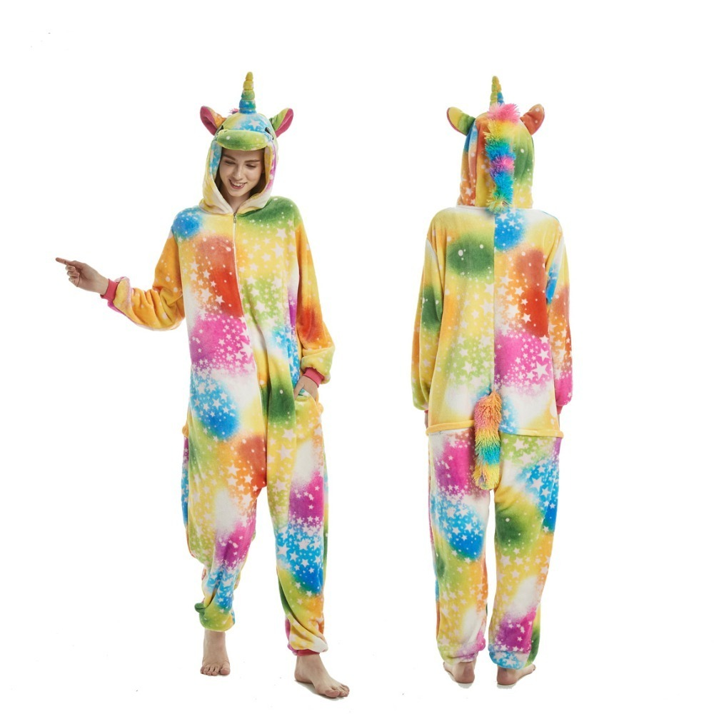 0f68e568c58 Kigurumi pajama Pokemon Pikachu Unicorn Cosplay Animal Hoodie Sleepwear  Pajamas Adult Unisex Stitch Onesie Cosplay Costume tiger