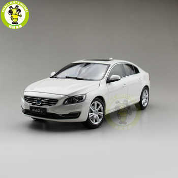 1/18 Volvo S60 S60L T5 Diecast Model Car Boy Girl Birthday Gift collection Hobby White Color - DISCOUNT ITEM  0% OFF All Category