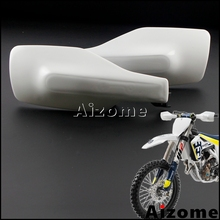 White Motorcycle Handguards For Husqvarna FC250 FC350 FC450 TC125 TC250 2016 2017 TX300 FX350 FX450 2017 Handguard Hand Guards
