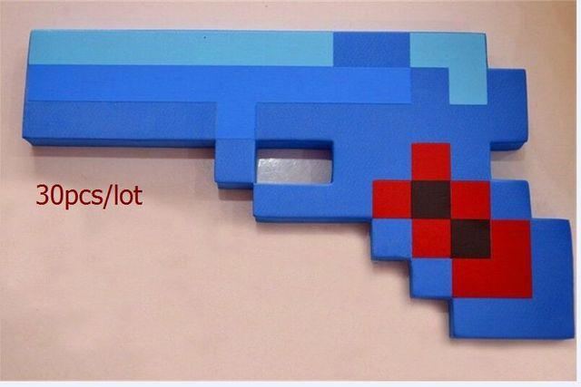 Teilelos Neue Minecraft Spielzeug Schaum Auswahl Gewehr - Minecraft spiele geburtstag