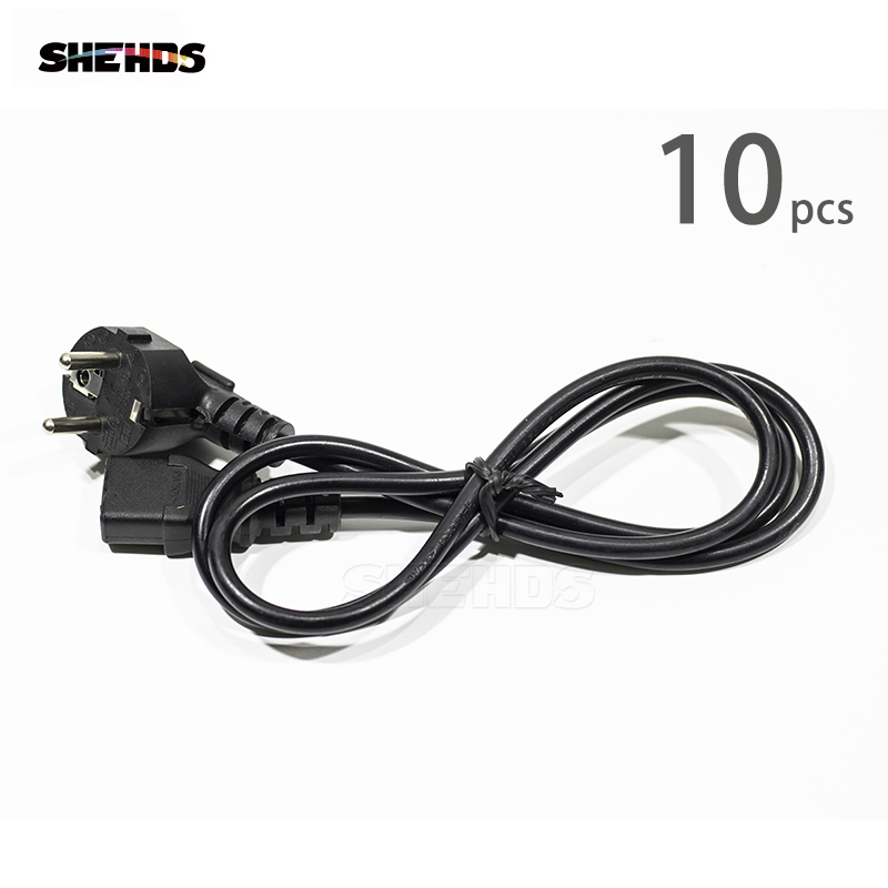 10pcs Stage Lighting Accessories Connector Power Cable 1M For LED Wash Beam Moving Head Lighting Disco DJ Party Equipment