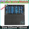 Открытый полный цвет P10 СВЕТОДИОДНЫЙ Дисплей Модуль, DIY LED большой экран SMD 3 в 1 RGB P10 светодиодные панели, открытый полноцветный Видео Стены