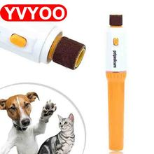 Pet Dog Cat Nail Grooming Grinder Trimmer Clipper Electric File Kit