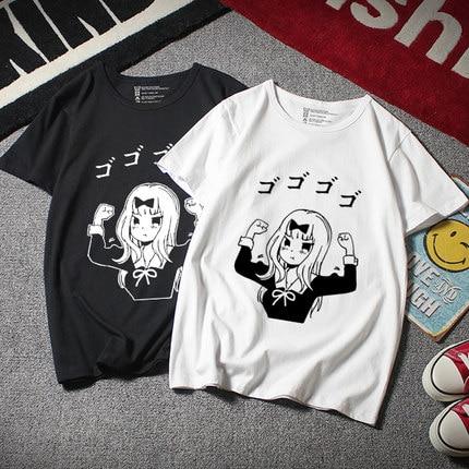 Anime Kaguya-sama: Love Is War Kaguya Shinomiya cosplay   T  -  shirt   Fashion   t     shirt   Cotton Men Tees tops