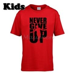 Camiseta para niños 2019 nunca te rindas Mo Mohamed Salah 11 Liga ropa Final camiseta para niños jóvenes Camiseta cuello redondo camiseta W19052506