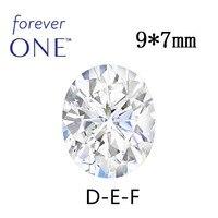 Прошедший Алмазный тестер Сертифицированный Charles Colvard овальной огранки Forever One Муассанит без огранки камни 1,9 CT VS DEF цвет с сертификатом
