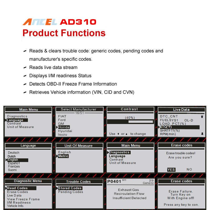 2016-OBD2-Auto-Diagnostic-Scanner-ANCEL-AD310-Multi-languages-Engine-Fault-Code-Reader-for-Car-Diagnosis