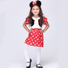 HALLOWEEN CHILDRENS KIDS GIRLS CHILD MICKEY MOUSE FANCY DRESS COSTUME SKIRT TV FILM 3 8