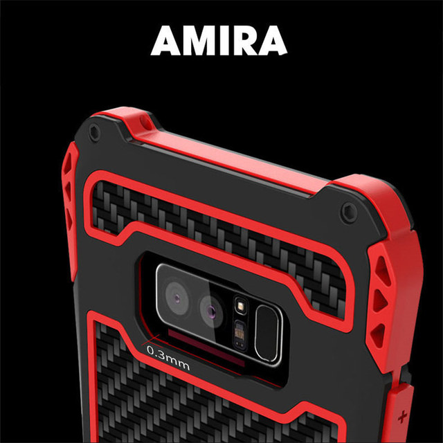 huge selection of fdee4 07cc2 R-Just Metal Case For Samsung Note 8