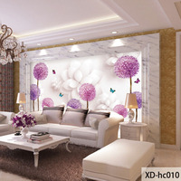 QINGCHUN Custom Print Fabric Textile Wallcoverings For Walls Mural Washable Matt Silk For Living Room Modern