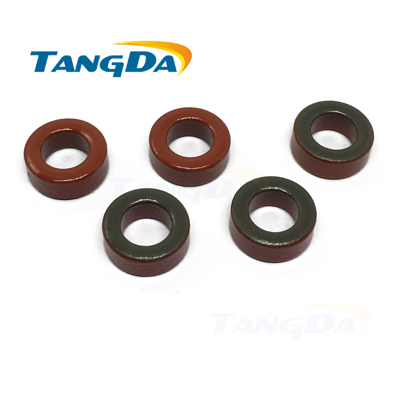 T50 2 Iron Powder Cores T50-2 13*7.5*5 Mm 4.9nH/N2 10uo Iron Dust Core  MICROMETALS TOROID HF, QRP , INDUCTOR EX