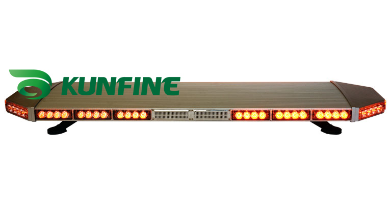 TIR LED 1.2M inches High Power traffic warning lightbar LED Emergency Warning Lightbar Police Lightbar KF8172