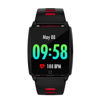 Smart Watch R17 Men 2.5D tempered glass 1.3 inch Full Display Blood Pressure Heart Rate Monitor Smart Health Wearable Device