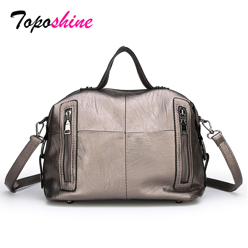 Stitching Handbag Messenger-Bag Wild-Shoulder Large-Capacity Winter High-Quality Casual