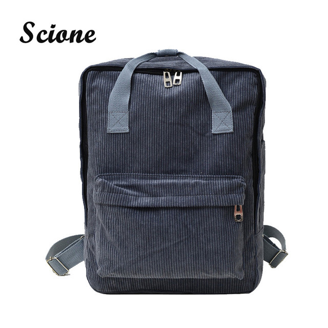 Harajuku versão coreana leisure travel bag schoolbag Campus Adolescente Meninos Meninas Mochila Sacos de Mulheres de Veludo Casuais Casal XA689H
