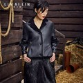 Woman's Fur Coat Long Section Thicken Beaver Fur Splicing GSJ011