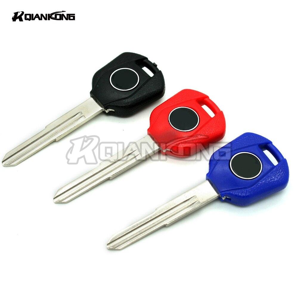 R QIANKONG Luminescence Moto Keys Rings Key Embryo Uncut Keyring For HONDA CBR600RR CBR900RR CBR929RR CBR954RR CBR1000RR VTR1000