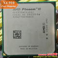 AMD Phenom II X4 910 Процессор Quad-CORE (2.6 ГГц/6 М/95 Вт/2000 ГГц) Socket am3 am2 + бесплатная доставка 938 pin, продаем X4 925X4 945