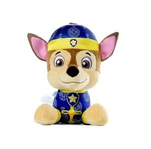 Image 5 - Peluche de Paw Patrol 18cm, cadeaux de style Tang, véritable poupée cadeau pour garçons et filles, fournitures de fête danniversaire, promotion