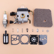 Carburetor Air Fuel Filter Repair Rebuild Kit Fit STIHL FS38 FS55 String Trimmer Strimmers
