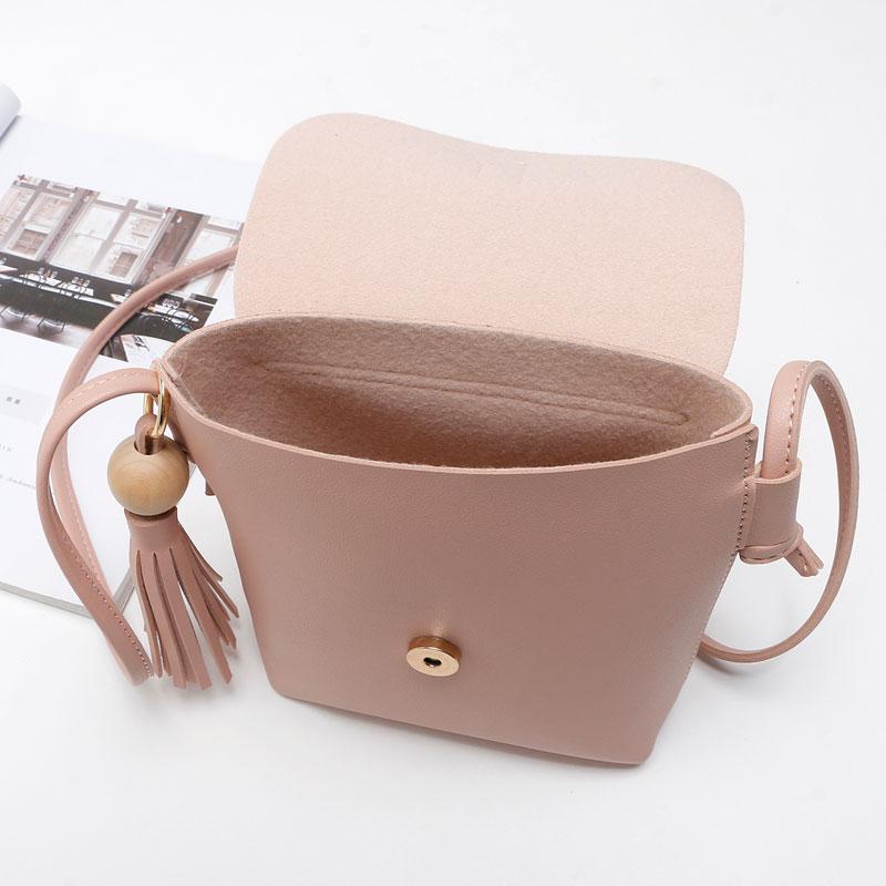 REPRCLA Fashion Tassel Shoulder Bags PU Կաշի Կանանց - Պայուսակներ - Լուսանկար 5