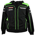In 2017 the new motorcycle hooded jacket for kawasaki MOTO GP warm winter coat