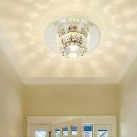 Reble заподлицо потолок светодиодные светильники домохозяйств кристалл небольшой прожектор Embeded/поверхностного монтажа Бесплатная доставка
