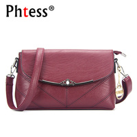PHTESS Famous Brands Women Leather Handbags Shoulder Bag Sac A Main Luxury Handbags Women Bags Designer