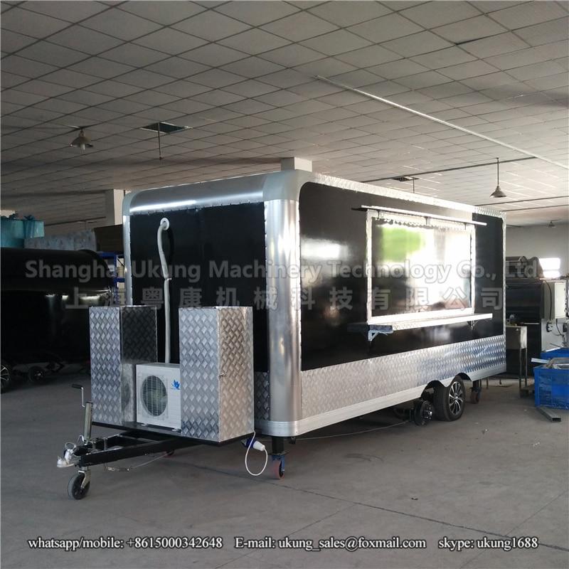 Food Vending Truck Equipment