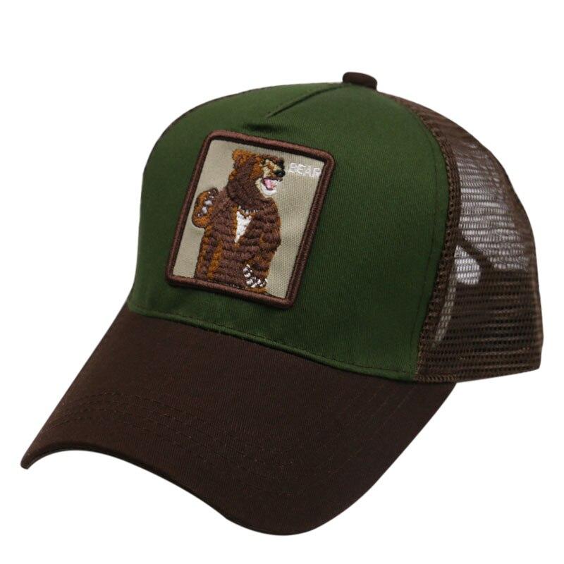 Neueste Kollektion Von Winfox Vintage Kappe Mesh Stickerei Kawaii Bär Baseball Caps Männer Frauen Snapback Hip Hop Trucker Hut Kann Wiederholt Umgeformt Werden.