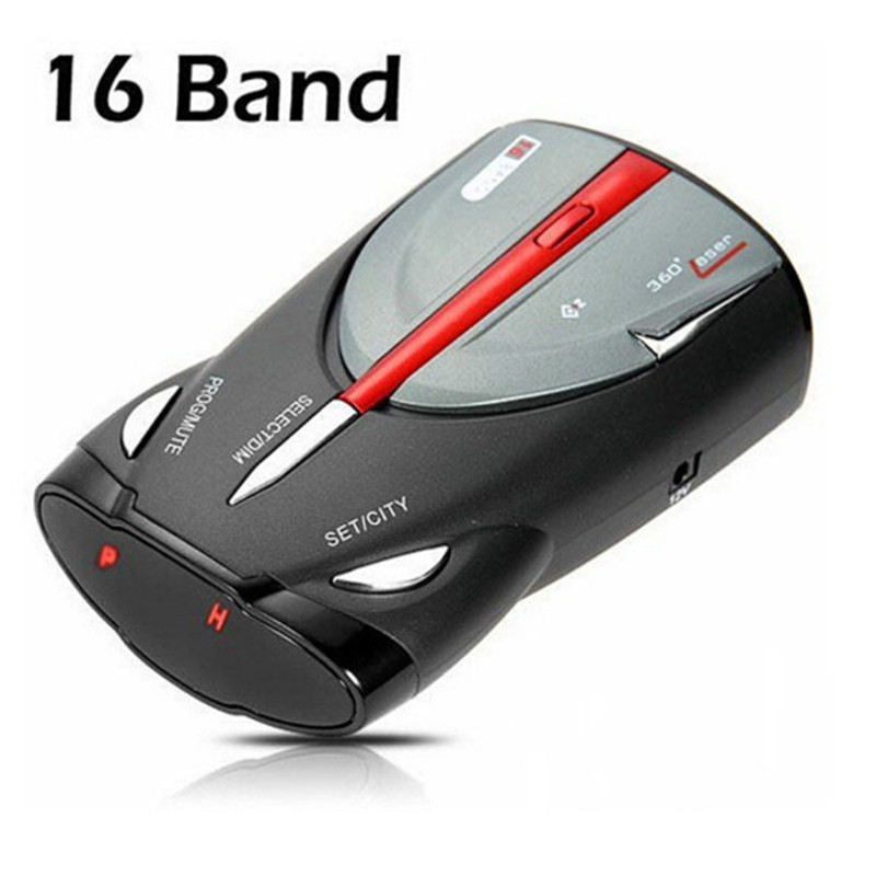 Hot! XRS 9880 Car Radar Detector Full 16-Band Russian & English Language Lacer Anti Radar Detector Driving safety warning device hot xrs 9880 car radar detector full 16 band russian & english language lacer anti radar detector driving safety warning device
