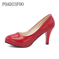 H C Summer Style Bottom High Heels Brand Women Pumps Pointed Toe High Heels Shoes