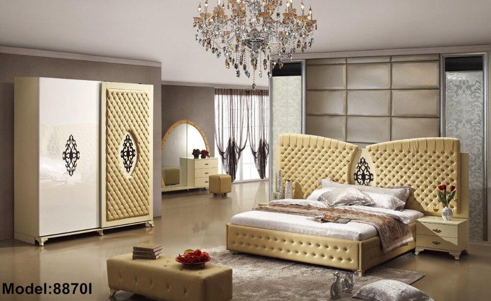Meubles chambre ensemble meubles chambre ensemble 2018 Moveis Para Quarto table de chevet moderne Promotion limitée en bois chambre à coucher