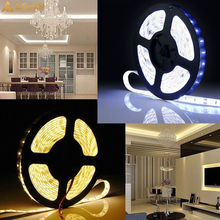 New Waterproof LED Light Strip 5630 SMD 300 LED 5M Ribbon Tape Light Flexible Strip Lamp DC 12V IP65 White / Red / Blue / Green sencart ip65 waterproof 1 2w 12lm 592nm orange 3014 smd led car decoration soft light strip dc 12v