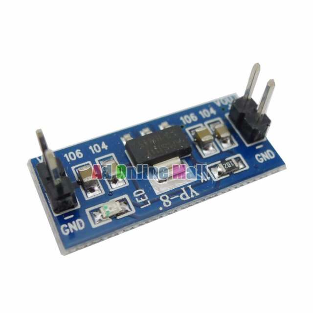 AMS1117 4.5-7V turn 3.3V DC-DC Step down  Power Supply Module For Arduino Raspberry pi
