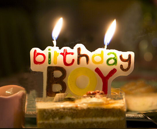 Free Shipping Child Birthday Cake Candle Boy Candles Children Party Themes