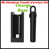 Xiaomi MI Bluetooth Headset Headset Earphone Youth Edition Kit Charging Base Case 320Mah Battery For Xiaomi
