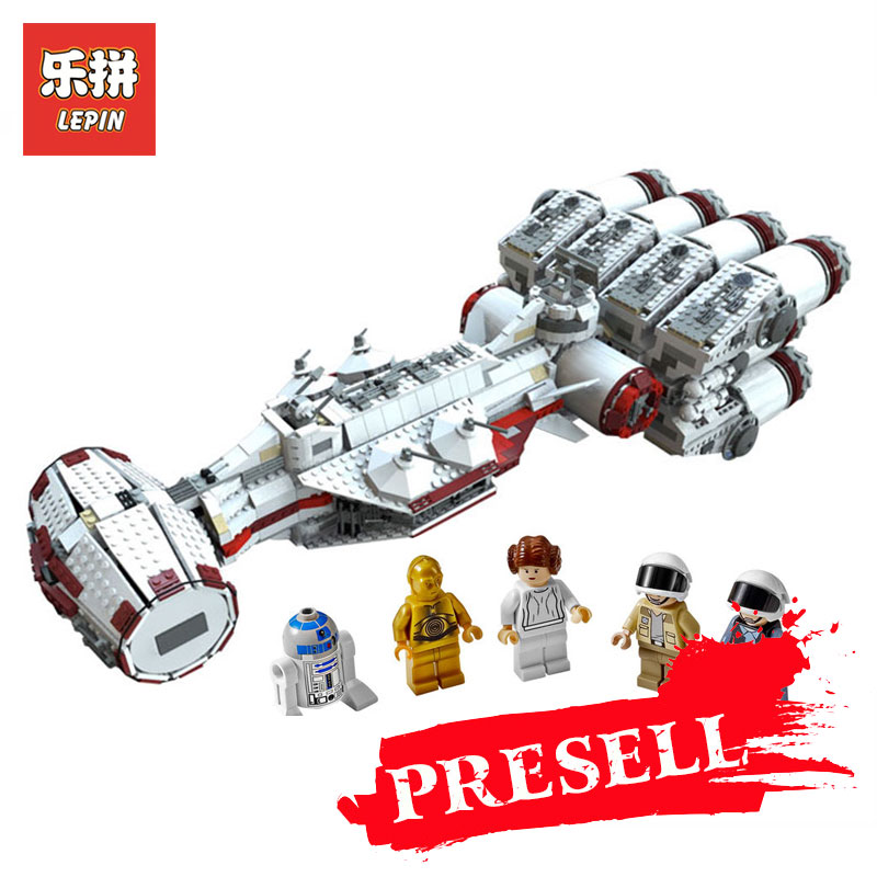 Lepin 05046 Star Wars Series The Tantive IV Blockade Runner LegoINGly 10019 Educational Building Blocks Bricks DIY toys for Boys lepin 42010 590pcs creative series brick box legoingly sets building nano blocks diy bricks educational toys for kids gift
